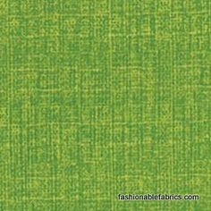 Fabric... Mod Century Tonal Tweed Texture in Leaf Light Green by Moda Fabrics