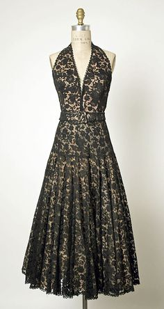 1950's - Design by Jacques Fath (French, 1912-1954) - The Metropolitan Museum of Art - The perfect silhouette for me!