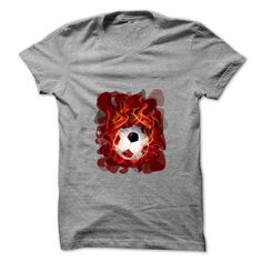 Football on fire art T-Shirts, Hoodies, Sweaters