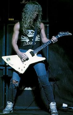 James Hetfield 1986
