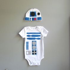 Star Wars Baby Costume - R2D2 Baby Clothes by penny