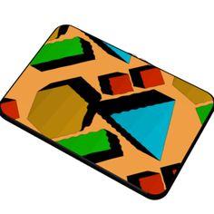 #Flintstone, by #ZMinus, #CitrusReport, #Macbookcase, #LaptopCase #alloverprint, @The Citrus Report, #Flintstones, #neon, #geometric, @The Citrus Report