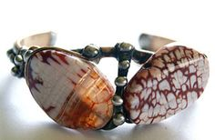 Mikal winn Designs 2012  LOVE the stones in this cuff bracelet!