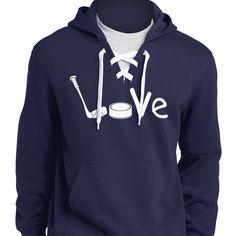 Hockey Love Hoodies