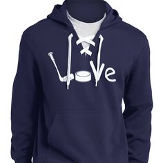 Hockey Love Hoodies
