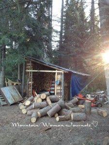 Mountain Woman Journals: Preparing for winter - Survival Mom Radio.com