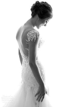 galia lahav wedding dresses 2014 real brides black and white photo shoot