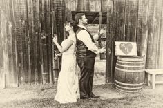 What's a country wedding without a standoff :)