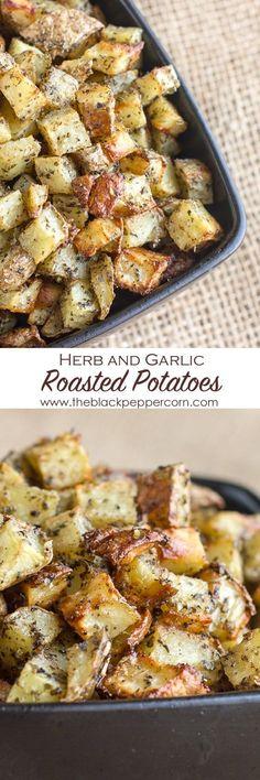 Herb and Garlic Roasted Potatoes