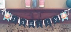 Chalkboard banner #SU -- customized for different seasons from stampinup.com