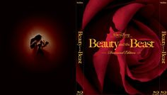 Beauty and the Beast - Alternate Disney Blu-Ray Slipcover