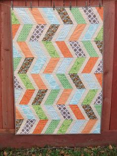Jungle Cruise baby quilt