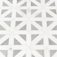 Enliven sense of contemporary look to your wall space by adding this MSI Bianco Dolomite Geometrica Polished Marble Mesh-Mounted Mosaic Tile. Marble Mosaic, Mosaic Wall, Mosaic Tiles, Wall Tiles, Happy Friday, Turkish Marble, Turkish Tiles, Bathroom Floor Tiles, Bathroom Wallpaper