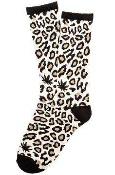 aa2791b116df Save  1.60 on Odd Future Men`s Domo Cheetah Socks  only  14.40 Odd Future