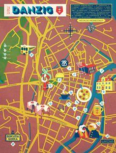 Jon Frickey - Map of Danzig