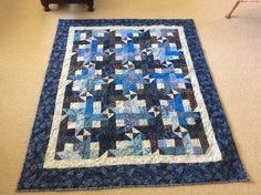 #14 of 2017 made by Sharon Theriault.  Quilted 6/2017