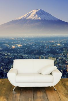 Check out this stunning Mount Fuji Wall Mural. Its perfect for a large wall and will add colour and depth to any room. Check it our here http://www.eazywallz.com/products/mount-fuji-wall-mural