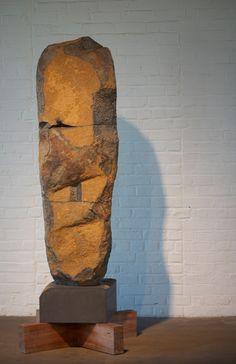Basalt Stone Sculpture at the Noguchi museum - Basalt, Marble and Granite Sculptures of Isamu Noguchi - Nalata Nalata