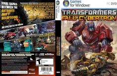 Transformers Fall of Cybertron Genre : Action | DVD : 2 DVD | Price : Rp. 10000,-  Minimum System Requirements:  CPU: Intel Core 2 Duo E6750 2.6 GHz or AMD Phenom X3 8750 CPU Speed: Info RAM: 2 GB OS: Windows XP/Vista/7 Video Card: GeForce 8800 GTS series with 512 MB RAM or ATI Radeon HD 4850 with 512 MB RAM Sound Card: Yes Free Disk Space: 8.1 GB