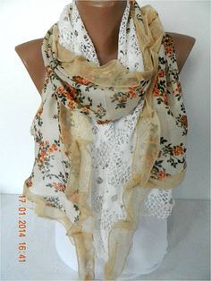 Fashion Scarf Trend Scarf ShawlsScarves by MebaDesign on Etsy