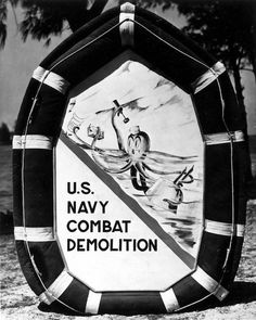 From prepping the beaches of Normandy to inventing Hell Week the Naval Combat Demolition Units (NCDUs) produced a dramatic and valuable legacy playing a Port Hueneme, Naval Special Warfare, Disney Logo, Normandy Beach, Us Navy Seals, Brothers In Arms, Military Insignia, Walt Disney Studios, Special Forces