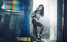 Selena Gomez Sport Suit Black Shoes - HD Wallpapers - Free Wallpapers - Desktop Backgrounds