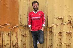 buy man utd retro long sleeve shirts - Google Search Shirt Sleeves, Long Sleeve Shirts, T Shirt, Retro Football Shirts, Athletic, Google Search, Mens Tops, Jackets, Fashion