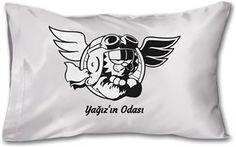 Pilot Garfield-Kendin Tasarla - Yastık 45 x 27 x 10 cm