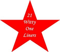 21 Witty One Liners - Roy Sutton