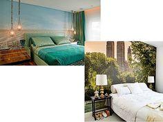 O seu quarto - O que colocar na parede da cabeceira ? | Simples Decoracao | Simples Decoração