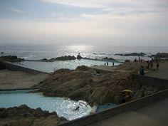 Leça Swimming Pools (Leça de Palmeira, Portugal) by Alvaro Siza