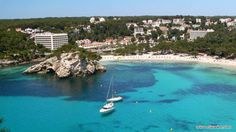 Some of the best Spanish Islands to visit are equally divided between the Balearic Islands and the Canary Islands, everyone on the Spanish Holiday Islands Menorca Beaches, Ibiza, Cala Galdana, Spanish Islands, Spanish Holidays, Barcelona, Walking Routes, Balearic Islands, Modern City