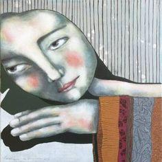 """Saatchi Art Artist Carolien de Brouwer; Painting, """"Compassion"""" #art"""