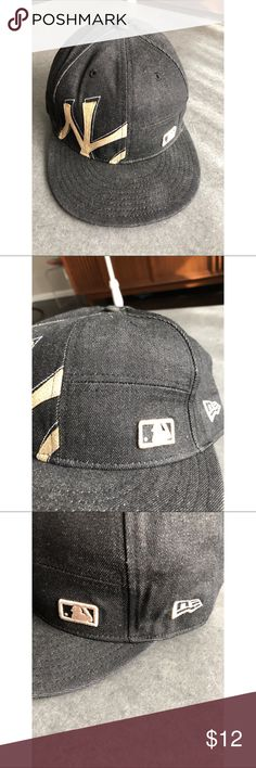 New Era 59FIFTY New York Yankees Hat 7.5 fitted Really nice gently worn New  York Yankees 26c98da3d02
