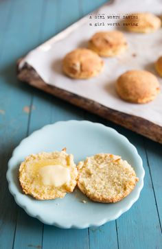 Looking for a biscuit you can slather with fresh made jam? Check out these Paleo Southern Biscuits!