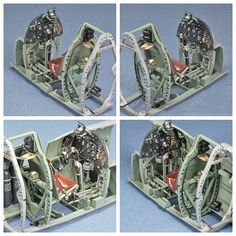 High Resolution Cockpit Enhancements for Model Aircraft. Aircraft Photos, Ww2 Aircraft, Fighter Aircraft, Spitfire Supermarine, Spitfire Model, Model Shop, Model Kits, Aviation Art, Model Airplanes