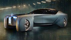 Rolls-Royce revela seu impressionante carro autônomo elétrico do futuro - Stylo Urbano #tecnologia #inovação #carros #luxo #design