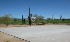 Basketball Court @ Lone Mountain Community Park