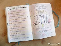 Bullet Journal 2017 Bucket List