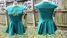 Vintage Cheerleader Uniform 70s Cheerleader by gottagovintage1