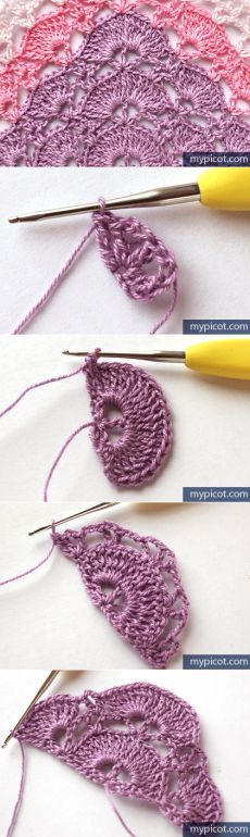 MyPicot | Free crochet patterns ༺✿ƬⱤღ http://www.pinterest.com/teretegui/✿༻                                                                                                                                                      More