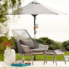 Huron Large Lounge Chair – Gray/Seal
