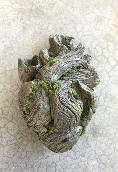 Tree heart that I sculpted from polymer clay. - Album on Imgur