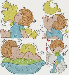 Dreams Free Embroidery: Baby                                                                                                                                                                                 Mais