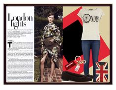 """""""London"""" by steffstef ❤ liked on Polyvore featuring J Brand, Aspinal of London, Dorothy Perkins and Mulberry"""