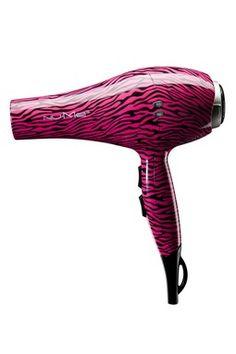 Ionic Hair Dryer - Hot Pink Zebra