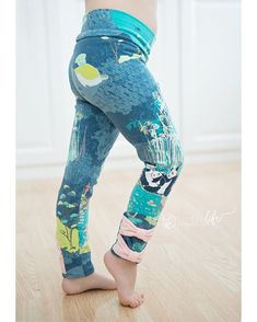 Tiffany's Bow & Ruffle leggings by Simple Life Pattern Company.