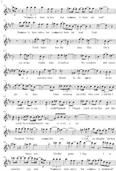 """Pista y partitura de """"Someone like you"""" - Adele 