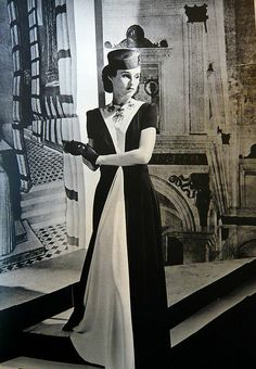 Babe Paley, 1938. Photo by Horst.
