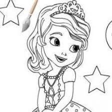 Resultado De Imagem Para Desenhos Para Colorir Princesa Sofia